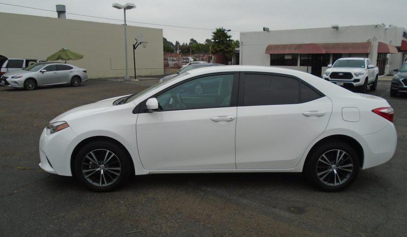 2016 Toyota Corolla LE full